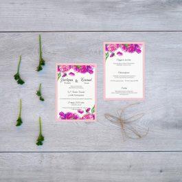 Zaproszenie Kwiatowe 08