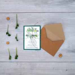 Zaproszenie Roślinne 09