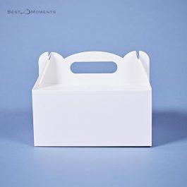 Pudełko na ciasto duże białe