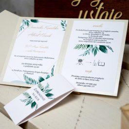 Zaproszenie Roślinne 01