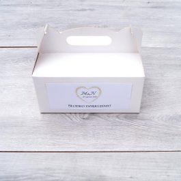 Pudełko na ciasto Glamour 02