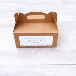 Pudełko na ciasto Eko 05
