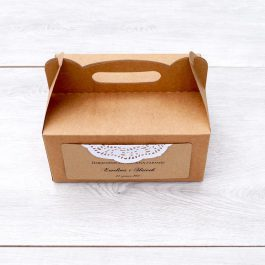 Pudełko na ciasto Eko 06