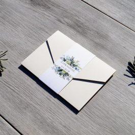 Zaproszenie Roślinne 10
