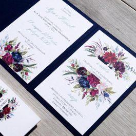 Zaproszenie Kwiatowe 13