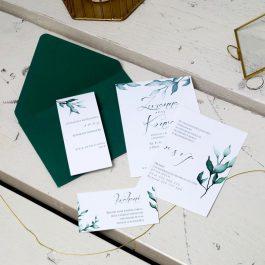 Zaproszenie Roślinne 12