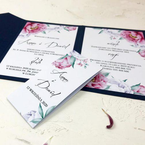 Zaproszenie Kwiatowe 15