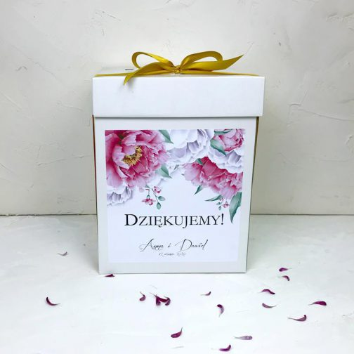 Pudło na koperty Kwiatowe 15